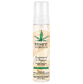 Hempz® Sugarcane & Papaya Herbal Foaming Body Wash