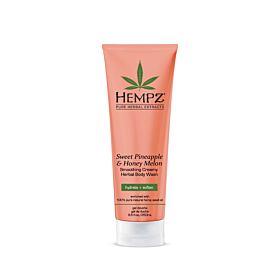 Hempz® Sweet Pineapple & Honey Melon Smoothing Creamy Herbal Body Wash