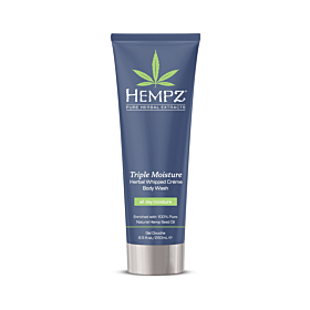 HEMPZ® TRIPLE MOISTURE HERBAL WHIPPED CRÉME BODY WASH