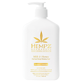 HEMPZ® MILK & HONEY HERBAL BODY MOISTURIZER