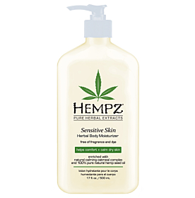 HEMPZ® SENSITIVE SKIN HERBAL BODY MOISTURIZER
