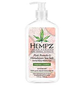 HEMPZ® PINK POMELO & HIMALAYAN SEA SALT HERBAL BODY MOISTURIZER