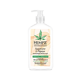 HEMPZ® SUGARCANE & PAPAYA HERBAL BODY MOISTURIZER