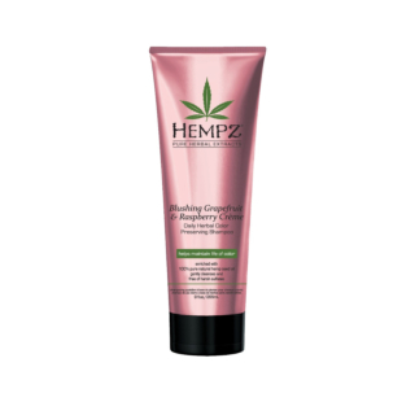 Hempz® Blushing Grapefruit And Raspberry Creme Color Preserving Herbal Shampoo