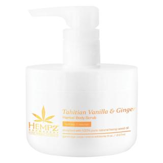 Hempz® Aromabody Tahitian Vanilla & Ginger Herbal Body Scrub