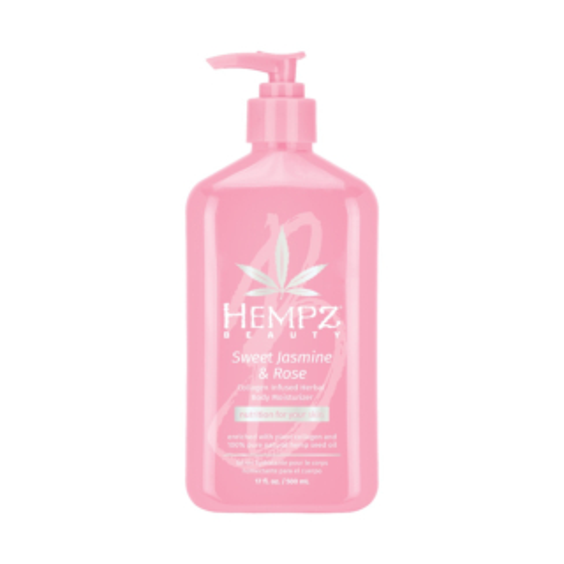 Hempz® Sweet Jasmine & Rose Collagen Infused Herbal Body Moisturiser