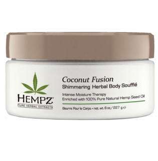 Coconut Fusion Herbal Shimmering Body Souffle