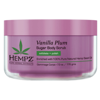 Vanilla Plum Herbal Sugar Body Scrub 215ml